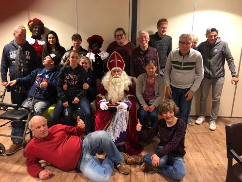 Sinterklaas bij Groet & Ontmoet