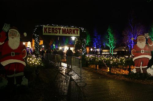Kerstmarkt Vaassen 2018 Voorplein kasteel Cannenburch ideale locatie!