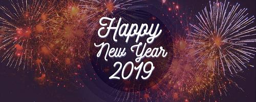 Een voorspoedig en gezond 2019 toegewenst!