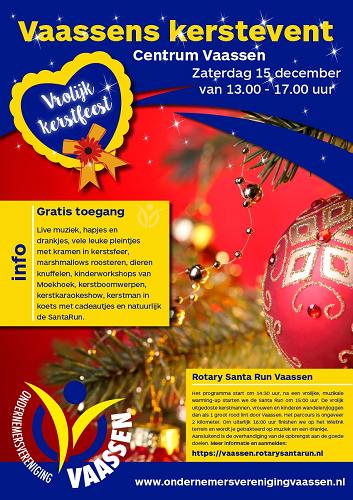 Kerstevent in centrum Vaassen
