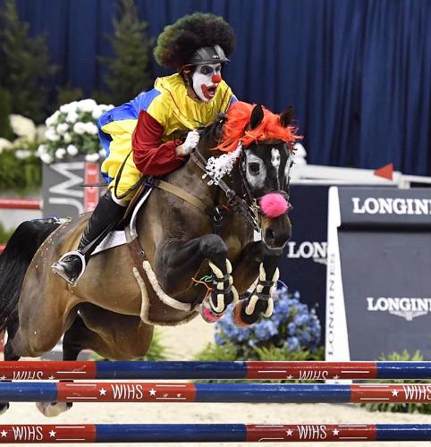 Paardensportcentrum De Cannenburgh organiseert de CarnavalsJump