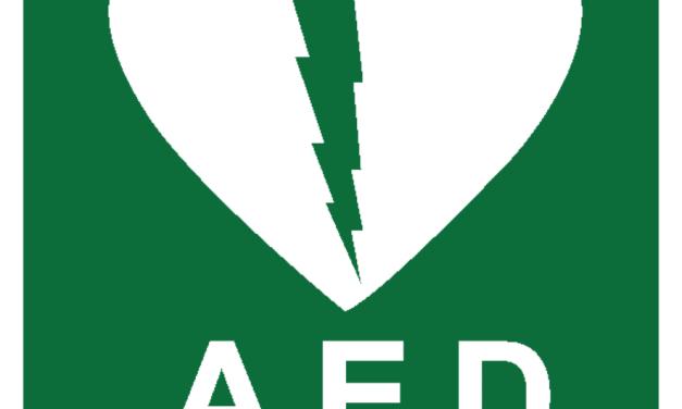 Schenking van twee AED's