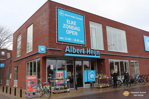 Albert Heijn nu ook op zondag open