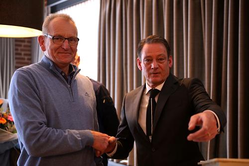 Alphons Betting Lid van Verdienste van KCVO en Gerard Holtman en Gerry van de Schepop de Verenigingsman en -vrouw van 2018
