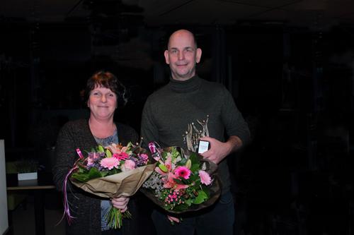Dirk Jan Visch en Ingrid Lindeboom Blok EVC verenigingsman en -vrouw van 2018