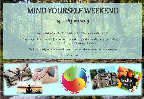 Mind Yourself Weekend bij Via Quidam in Vaassen