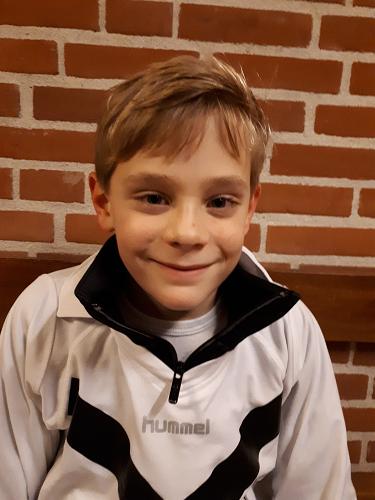 Pupil van de week bij KCVO is Thijs Bonekamp