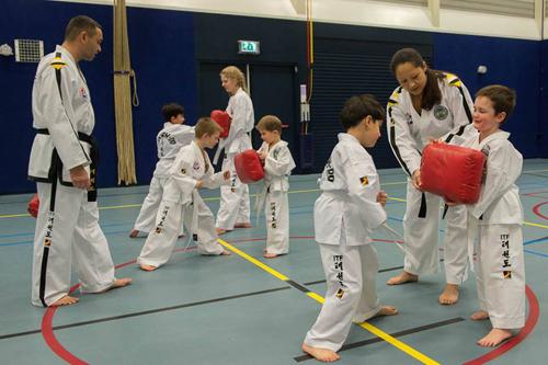 Start jeugdlessen Taekwon-Do Vaassen