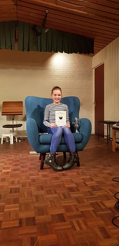 Julia Bosch voorleeskampioen Vaassen