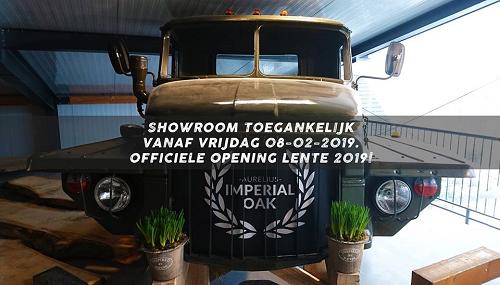 Aurelius Imperial Oak opende vrijdag 8 februari een showroom