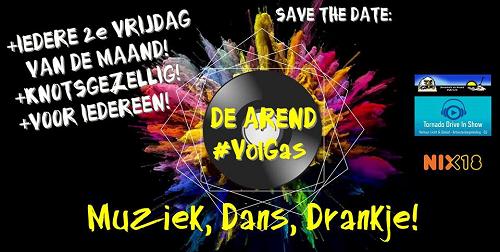 """In """"De Arend"""" te Nijbroek  """"VolGas"""""""