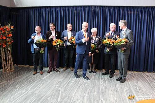 Lintjesregen gemeente Epe 2019