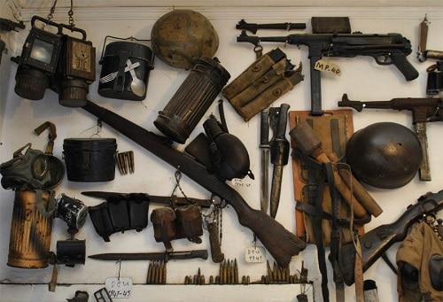 Inzameling voorwerpen gerelateerd aan WOII voor Expositie 2020