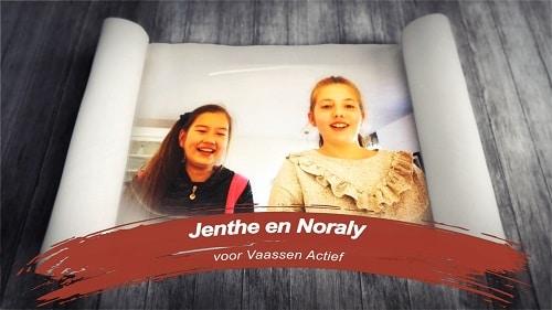 Vlog Appel-Kaneel Cake maken met Noraly en Jenthe