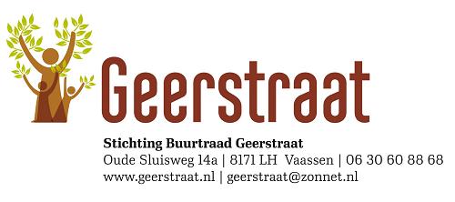 Nieuws van het hoofdbestuur Buurtraad Geerstraat/verbreding A50