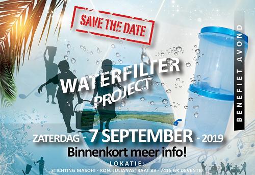 Benefietavond Waterfilterproject Haria