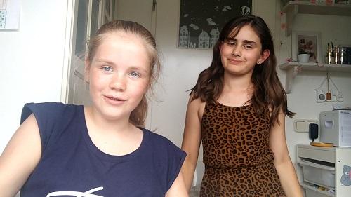 De vlog van Meike en Nina