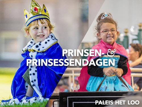 Prinsen & Prinsessendagen op paleis Het Loo Apeldoorn