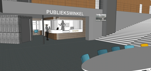 Definitief ontwerp verbouwing gemeentehuis klaar
