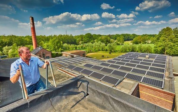 Zonne-energie voor ondernemers