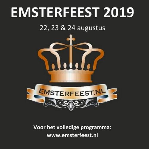 Emsterfeest 2019 gaat donderdag 22 augustus van start!