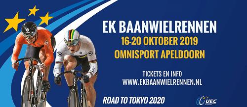 EK Baanwielrennen Omnisport Apeldoorn