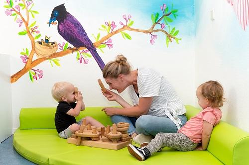 Eigen groep voor baby's bij Kinderdagverblijf Duimelot