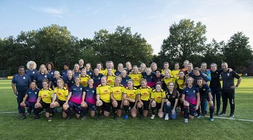 VIOS Dames 1 tegen ADO Den Haag Belofte Team