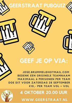Pubquiz Buurtraad Geerstraat