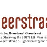 Oproep  Buurtraad Geerstraat Vaassen voor ontwerpen van een vlag