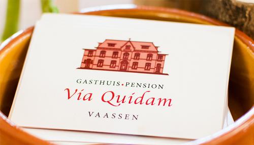 Zomer Arrangement Gasthuis Pension Via Quidam