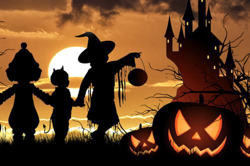"""""""Halloween"""" Spooktocht bij speeltuin de Kouwenaar"""