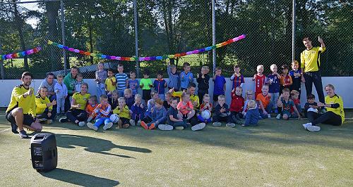 Ruim 40 kinderen tijdens het zonovergoten Vios Kidsclub Event!