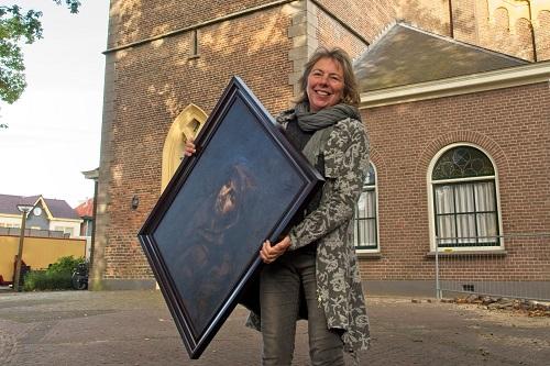 Caroline van de Vate exposeert in Vaassense Dorpskerk