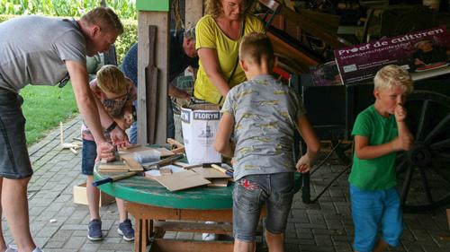 Kindermiddagen op Veluws Museum Hagedoorns Plaatse
