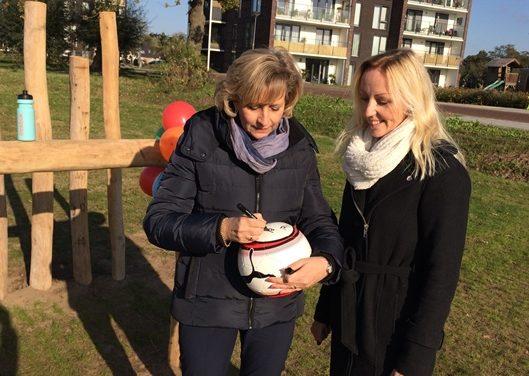 Duurzaam trapveldje in woonwijk Klaarbeek geopend