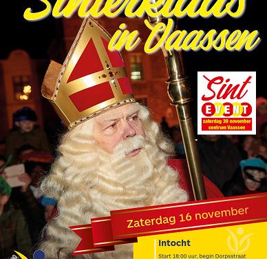 Sinterklaas intocht in Vaassen