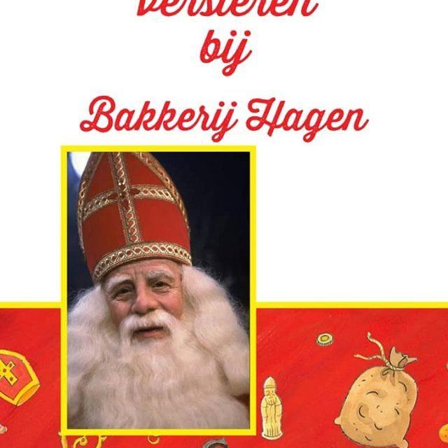 Chocoladeletter versieren bij Bakkerij Hagen!
