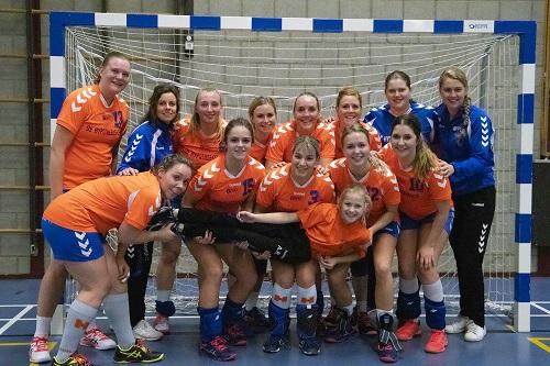 CVO dames winnen tegen Haarle
