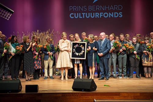 Molenaars in opleiding, Jurre Riphagen en Ramon Kroes aanwezig bij uitreiking Prins Bernhard Cultuurfonds prijs
