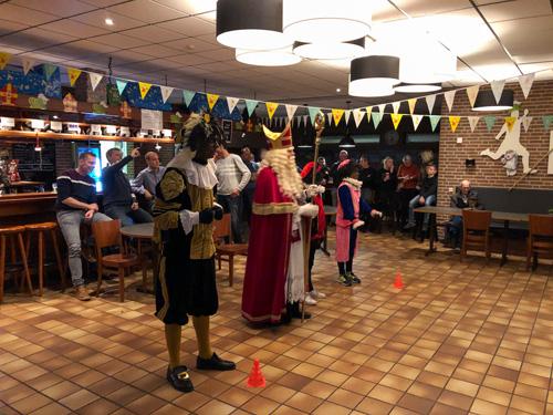 Sinterklaas op bezoek bij KCVO