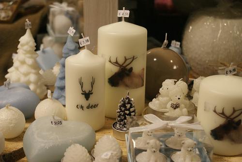 Kerstkortingsweken in de kaarsencadeaushop van 't Smallert