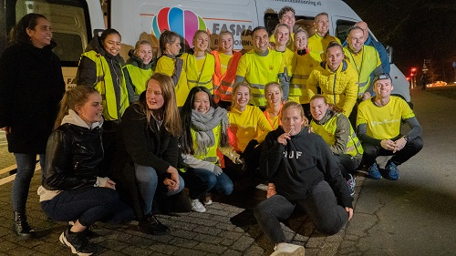 Hardlopen van Amsterdam naar Vaassen voor Kenia