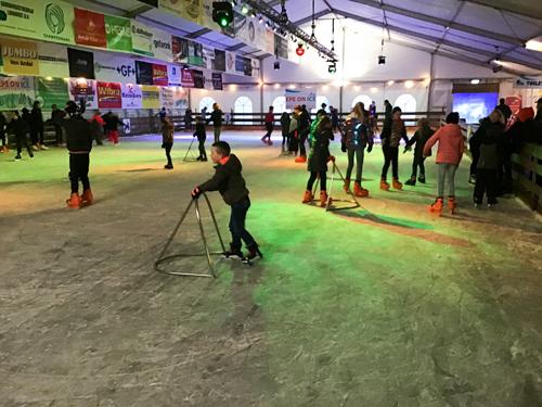 Gratis Schoolschaatsen bij Epe on Ice