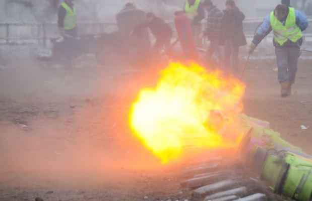 Afsteektijden vuurwerk en carbid tijdens jaarwisseling