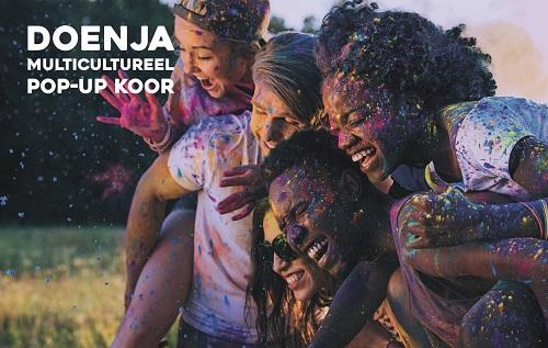 Multicultureel koor Doenja maakt minitournee