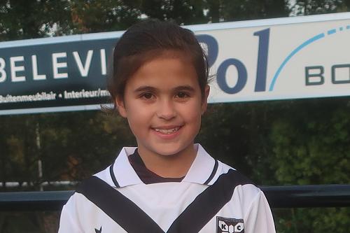 Pupil van de week Charly Berenschot bij de derby tegen SV Epe aanstaande zaterdag.