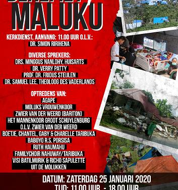 Actiedag voor de Molukken in Vaassense Dorpskerk