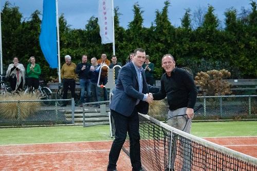 Nieuwjaarsbijeenkomst en officiële opening nieuwe banen van Tennis Club de Kouwenaar