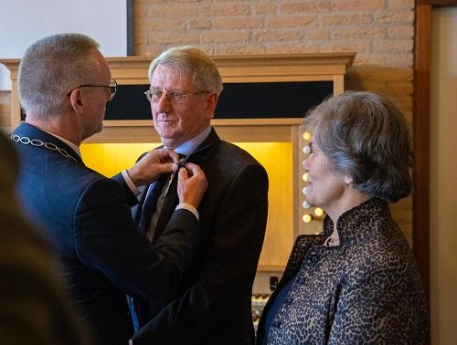 Lulof Dalhuisen uit Oene benoemd tot Lid in de Orde van Oranje Nassau